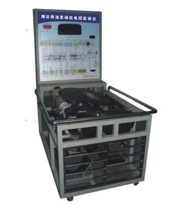 sg-qc244捷达电喷发动机实验台