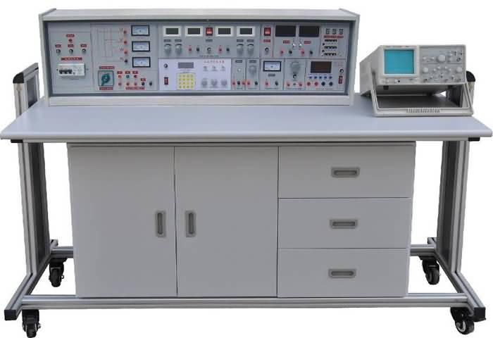 创新实验元件模块在其上任意拼插成实验电路.